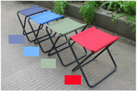 Wholesale Brand New Portable Folding Oxford Antiskid Fishing Chair Beach Stool Chair With Carried Bag Strong And Useful