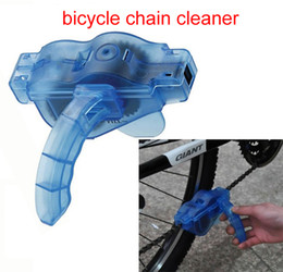 Wholesale Road Mountain Bicycle Chain Cleaner Machine Cycling Bike Brushes Scrubber Wash Clean Tool Kit