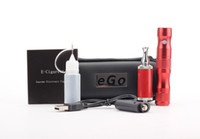 Electronic Cigarette Set Series  Electronic cigarette Adjustable X6 battery kit Ego starter kit Ego v metal pirate atomizer e cig 1300mah X6 battery Zipper case Clearomizer