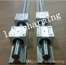 Wholesale 2X SBR12 L mm mm FULLY SUPPORTED LINEAR RAIL SHAFT SBR12UU Rounter Bearing