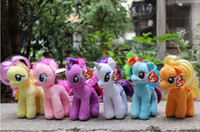 Wholesale Retail cm My Little Pony Plush Cartoon Super Quality plush Dolls Stuffed Toys Plush Animals