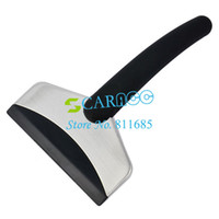 Ice Scraper Ice Scraper 11 inch New Mini Car Ice Scraper snow scraper Removal Emergency Spade Auto Clean Tool color black 6571