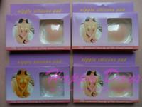 Bras Cotton Normal bra Nipple Silicone Pad Nipple Cover Nipple Pad Skin Adhesive Reusable Gel Petals 200pair, With Retail Box