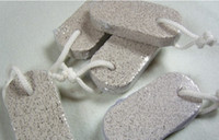 Wholesale Creative Home Furnishing supplies volcano stone foot exfoliating bath stone foot file stone