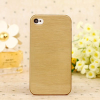 High Quality Fashion Steel Wire Case Cover For iPhone 4 4S 5...