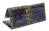 Wholesale 18W Solar Panel Battery Charger Foldable Charger Bag Wallet USB5V DC16 V Output Battery Backup HOT