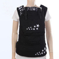Wholesale black star USA Designer Collection Front and hip back carry organic cotton baby carrier kids Slings child wrap hipseats