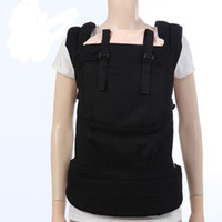 Wholesale black and camel USA TOP BRAND Designer Collection Front and hip back carry organic cotton baby carrier kids Slings child wrap hipseats