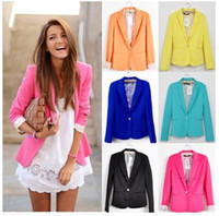 Jackets Women Cotton,Polyester Hot Sell 2014 jacket coat Plus Size Sexy New women jackets Small Suit