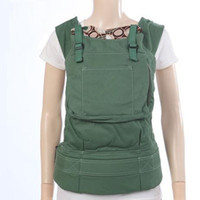 Wholesale Green w River Rock Print l Designer Collection Front and hip back organic cotton baby carrier kids Slings child wrap backpacks