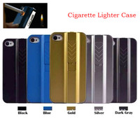 Wholesale New Arrivals Hard Protective Cigarette Lighter Smoking Gadget Cell Phone Case Cover Fire Case With Retail Package For iphone S S