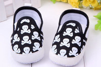 Wholesale 30 off Newest Little Skull girls princess shoes Baby shoes yards shoes sale kid shoes china shoes baby wear pair Melee