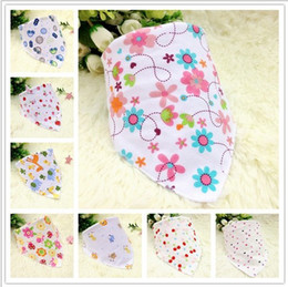 Wholesale fashion cotton knitted baby bibs