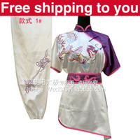Wholesale Customize Chinese wushu uniform dragon embroidery Kungfu clothing Color matching performance Martial arts men little boy child