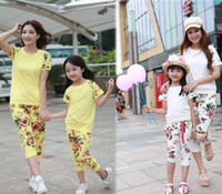 2014 New Arrival Summer Family Clothes Fashion Flowers Print...