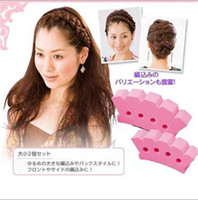 Large size Fashion Magic Grace Sponge Hair Braider Twist Sty...