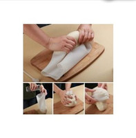 Wholesale DIY cooking Pastry Tools Multi functional food Soft porcelain silicone preservation magic kneading dough bag Flour mixing bag