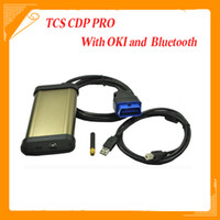 Code Reader For BMW tcs In stock 3 in 1 TCS CDP Bluetooth with M6636B OKI Chip cdp pro 2013.01 software with keygen Free Shipping
