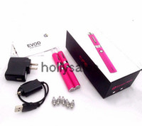 Electronic Cigarette Set Series silvr 100% original kanger evod starter kit with evod bcc clearomizer e cigarette evod with best wholesale price fast shipping in stock