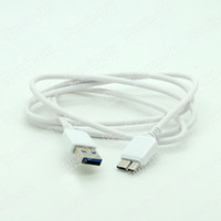 For Samsung   White Micro USB 3.0 Charger Cable Data Sync Charging Cord Extension Lead For Samsung Galaxy Note 3 III N9000 N9005 N9006