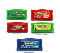 Wholesale New Video Games for Gameboy Adcance Game Boy Advance GBA games Hottest poke Mix order Custom order