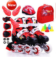 Wholesale Adjustable Roller Skates Kids roller skates skate shoes full suits for men and women skate flash