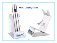 Display stand   Electronic Cigarette Display Stand For Ego Battery EVOD MOD King Nemesis Chiyou Maraxus Acrylic Material E Cigarette Exhibition Shelf