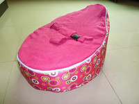 baby bean bag - Hot Promotion Baby seat baby bean bag pink scire beanbag chair without filling
