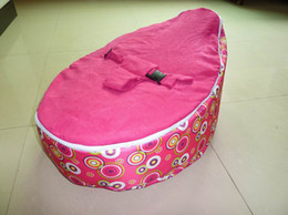 Wholesale Hot Promotion Baby seat baby bean bag pink scire beanbag chair without filling