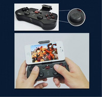 Wholesale 2014 New Arrival Wireless Bluetooth Game Pad Controller Joystick for iPhone iPad Android Black
