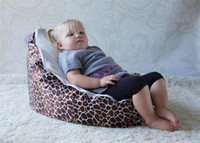 Wholesale Hot Promotion Baby seat baby bean bag leb white beanbag chair without filling