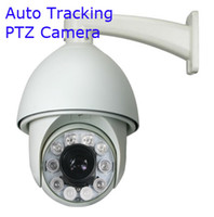 ptz auto tracking - 700TVL SONY EFFIO CCD x Outdoor CCTV PTZ IR Camera Auto Tracking Heater Fan
