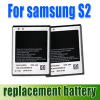 Wholesale DHL free only High quality mAh EB F1A2GBU EBF1A2GBU Battery For Samsung Galaxy S2 SII i9100 i9103 i9108 i9188 from churchill