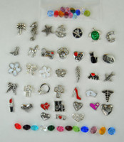Wholesale 20pcs per style Living floating locket charms fits all lockets You choose Will combine shipping