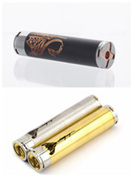 Electronic Cigarette Battery  Full Mechanical mod clone copper ss stingray mod clone E cigarette for steam turbine taifun gt kayfun 3.1 aotmizer airflow control DHL