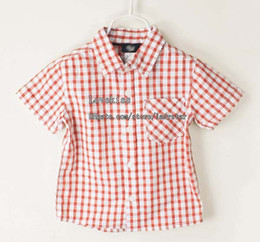 Wholesale Cotton Shirts Short Sleeve T Shirts Kids Clothing Boys Shirts Tee Shirts Baby Shirts Boy V Neck Shirts Child Cool Shirts Children Clothes