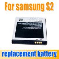 Wholesale 1650mAh EB F1A2GBU EBF1A2GBU Battery For Samsung Galaxy S2 SII i9100 i9103 i9108 i9188