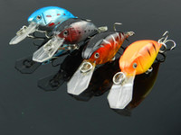 Wholesale Fishing lures Road sub bait little fat freshwater lures rapala bass lures CM G hooks