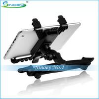 Wholesale Multi Direction Car Mount Headrest Holder for Tablet PC with plastic black color