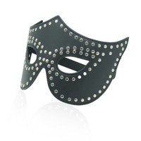 Masks Female  New Black Eyemask for party or club show or role playing as a queen Bondage gear sex toy