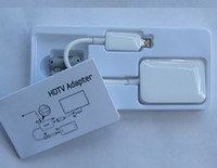 Wholesale MHL Smart HDTV Adapter Mini Micro USB to HDMI Cables for Samsung Galaxy S3 S4 Note I9500 I9300 with Retail Package Box Factory Offer