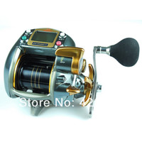 Wholesale HI Power Speed Superior E Boat Reel Electric Fishing Reel ECOODA DRAGON7000LB Reels Drag kg GRAY