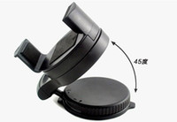 Universal   Black Universal Car Windshield Mini Holder Swivel Mount for all Cell Phone with retail packing