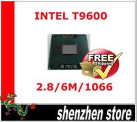 Intel Core2 Duo Processor T9600 móvil 6M caché 2.80 GHz 1066 MHz FSB de la CPU para el cuaderno de actualización del envío + código de seguimiento
