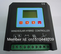 Wholesale MPPT amp Smart Wind Solar Hybrid Charge Controller W v A W Wind w solar Electronic brake and unloading function