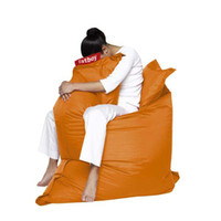 bean bags covers - orange color Triangulared Chair Bean Bag Cover With Liner Without Filling chinapostair