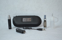 Single Black Metal 650mah 900mah 1100mah battery eGo CE4 kits CE4 Atomizer ego Electronic cigarette e cigarettes kits ego Zipper Carry Case DHL Free Shipping