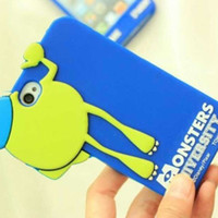 Popeyes Monsters University cute cartoon silicone Case Cover...