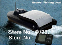 rc bait boat - 2014 Newest JABO BL Remote Control Bait Boat Fish Finder And upgade JABO BS Lipo Battery Newest Eiditon Jabo RC fishing boat