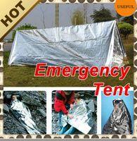 Emergency Tent door emergency - 12um Aluminized Film Aluminum Tent Emergency Tent X240mmX90MM